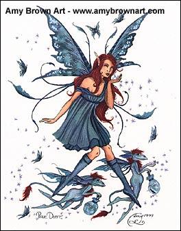 Amy Brown Fairy Art Gallery Cute Paintings Fantasy
